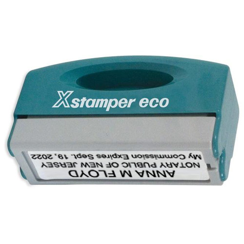 X-Stamper Pocket Mount Notary