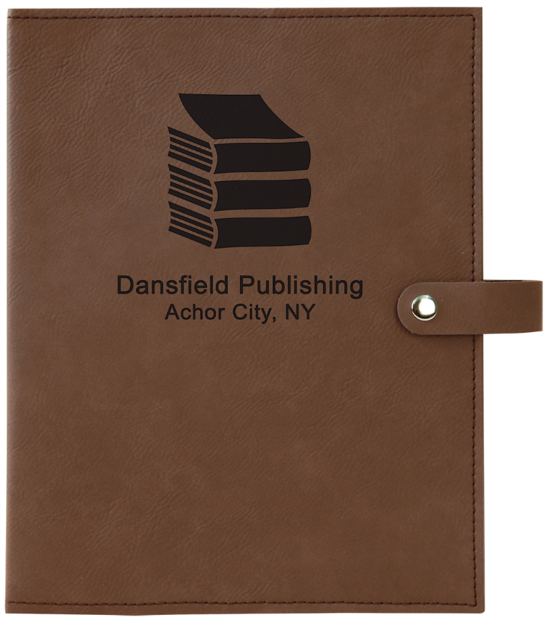 "811BOOKCOVER - 8 3/4"" x 11"" Leatherette Book Cover"